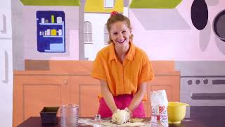 'knead knead': sing along song for kids, with movement and cooking