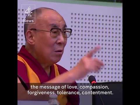 "Dalai Lama: No Such Thing as a ""Muslim Terrorist"" or ""Buddhist Terrorist"""
