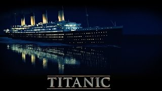 Where did the titanic sink