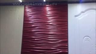 видео ПВХ-пленка как материал для облицовки дверных фасадов