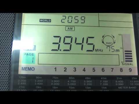 Radio Vanuatu on 3945 kHz