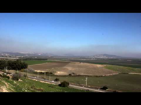 Behind the Bible: Overview of the Jezreel Valley from Megiddo