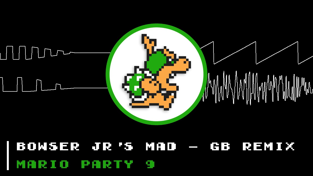 Bowser Jr S Mad 8bit Remix Mario Party 9