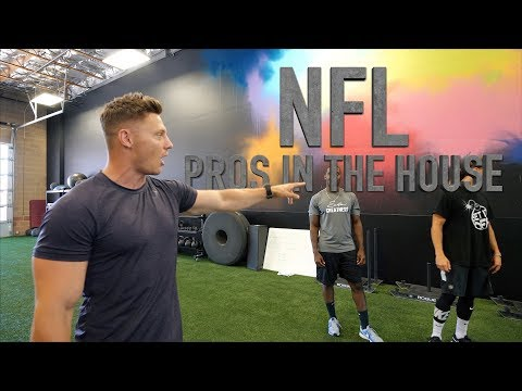 Training NFL ATHLETES At Fitness Culture!