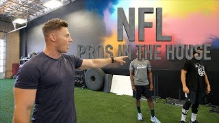 Training NFL ATHLETES At Fitness Culture! Pt. 1