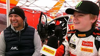 Rally Liepāja 2017 - Oliver Solberg: Like Father, Like Son