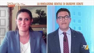 Chiara Appendino ospite a L'Aria che tira su La7 il 14/06/2021