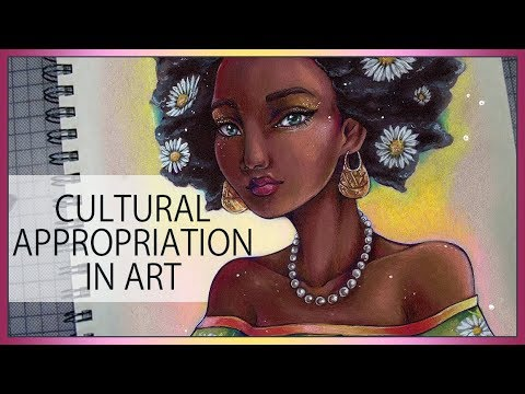 Art Talk 03 ♦ Cultural Appropriation in Art ♦ Janelle's Daisies ♦ Copic and pencils Art by Sakuems