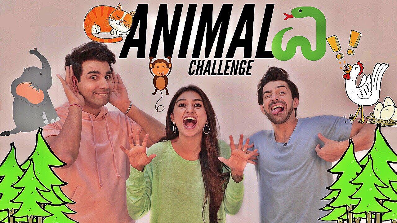 ANIMAL Challenge | Rimorav Vlogs