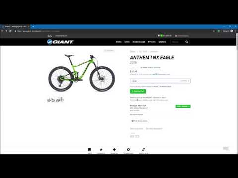 How to buy a new Giant Bike online