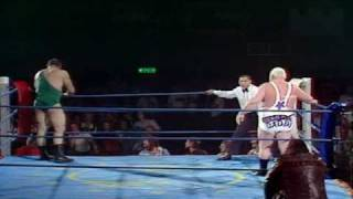 1979 BIG DADDY VS  MIGHTY JOHN QUINN (BRITISH WRESTLING)  HQ