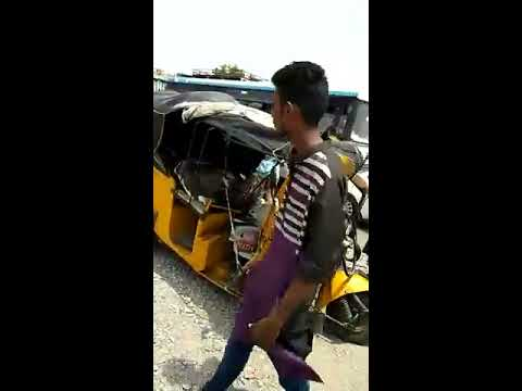 LOBO met with an accident,at hyderabad,a car and auto four injured including lobo