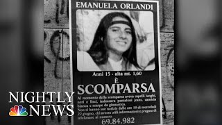 Anonymous Tip Reopens Investigation Of 30 Year Missing Girl Mystery In Vatican | NBC Nightly News