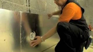 Saunan eristäminen SPU Sauna-Satu -eristelevyillä (1/2)