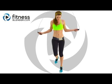 Quick Sweat Cardio Fat Burn - Fun Jump Rope Workout