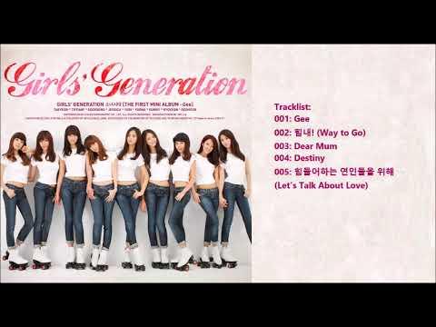 [Full Album] 소녀시대 (SNSD)- Gee Mini Album