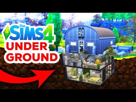 UNDERGROUND BUNKER - The Sims 4 thumbnail