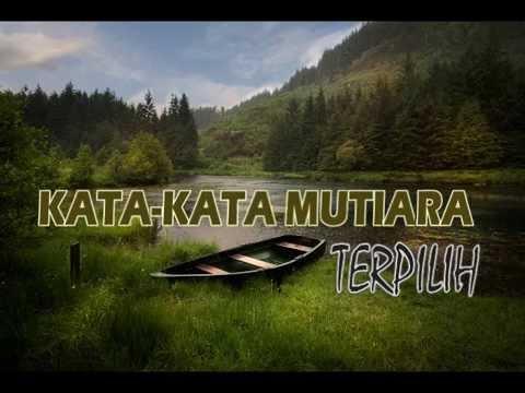 Kata Kata Mutiara Yang Menyentuh Hati Youtube