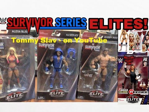 WWE SURVIVOR SERIES ELITE FIGURES + MORE!