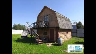 Дом и баня на участке 14 соток в Рузском районе, в деревне Таблово.