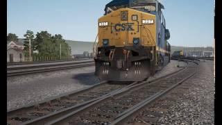 """TSW Train Sim World: сценарий """"неуправляемый-2"""""""