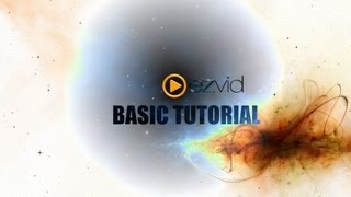 ezvid Video Editing Software Basic Tutorial