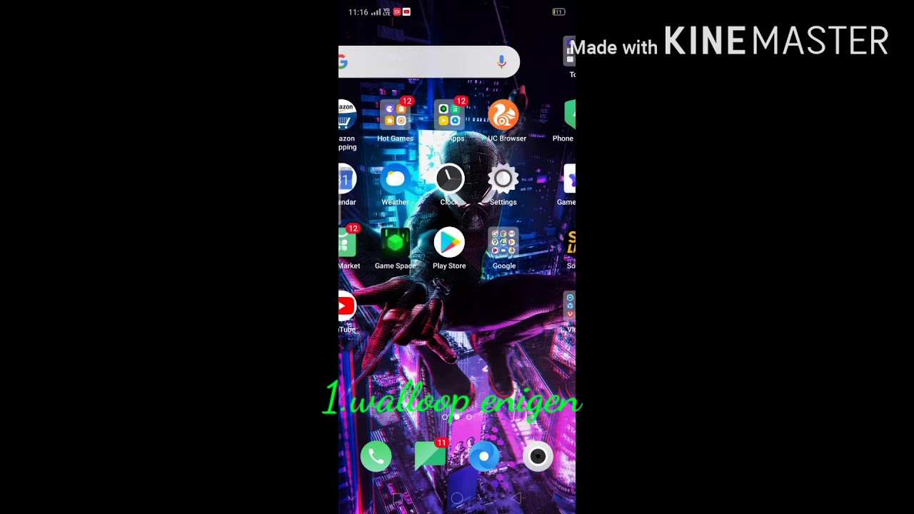 Live wallpaper for Android and iOS /app detacre - YouTube