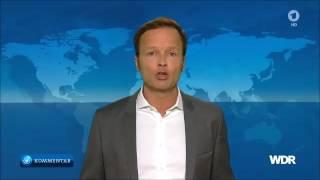 ARD - Moderator attackiert Angela Merkel