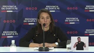 [EN VIVO] Reporte Epidemiológico de la provincia de Santa Fe