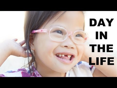 DAY IN THE LIFE OF ROSIE | Down syndrome Awareness | This Gathered Nest