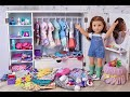 American Girl Messy Room Disaster ~ Closet Cleaning Tour!!