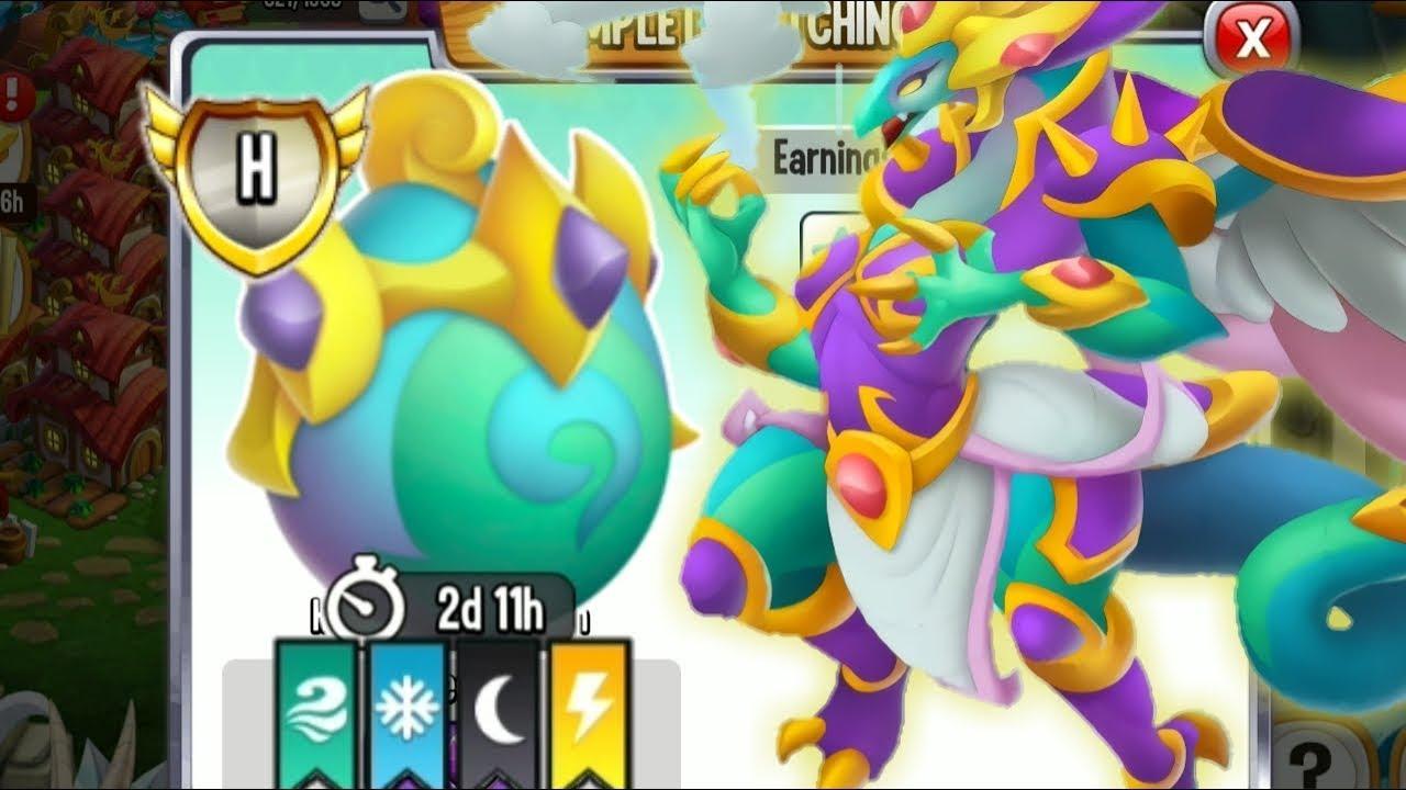 Hoàn Thành Cuộc Đua Nhận Ngay Rồng Heroic High Typhoon Dragon  !|| Vũ Liz Dragon City !