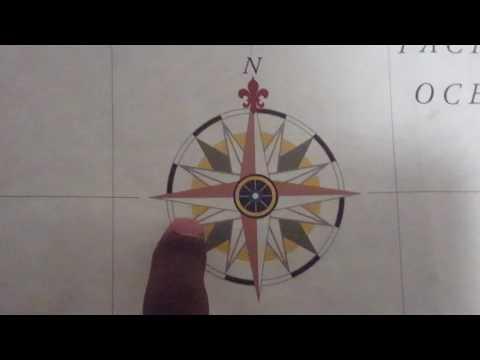 Cardinal, Intercardinal, and 2nd intercardinal directions