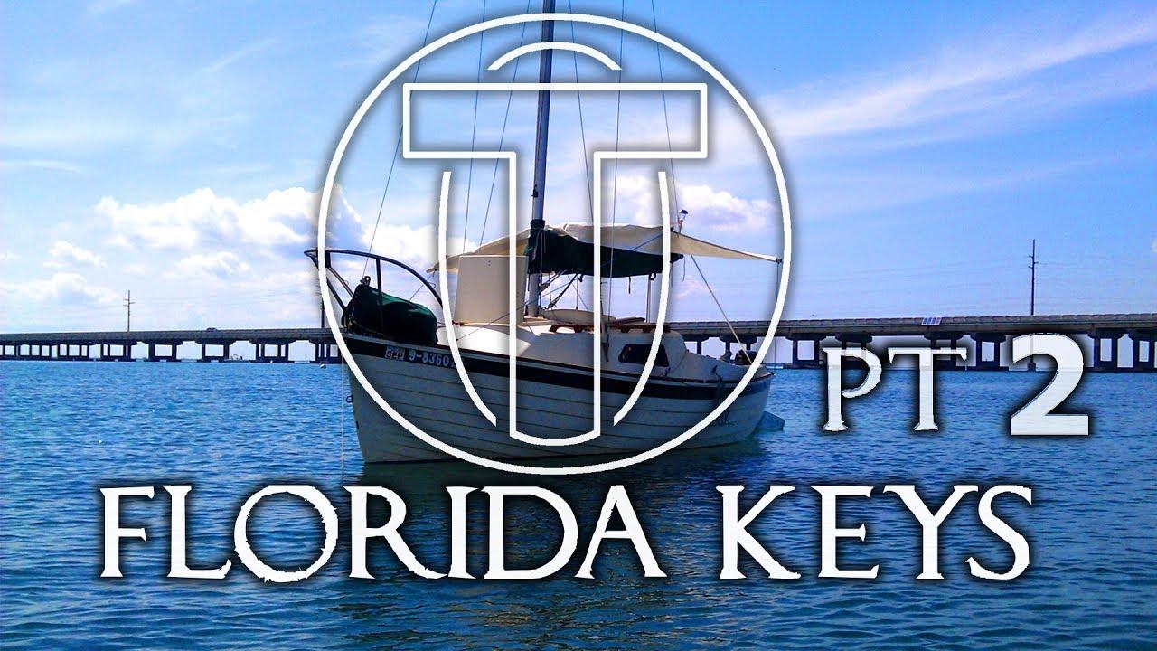 Sailing Florida Keys Solo Part 2 - Montgomery 17