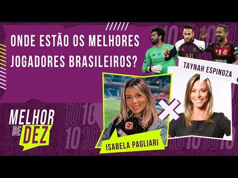 A SELEÇÃO BRASILEIRA SÓ COM JOGADORES DE UMA LIGA - MELHOR DE DEZ