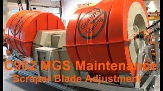 Scraper Blade Adjustment