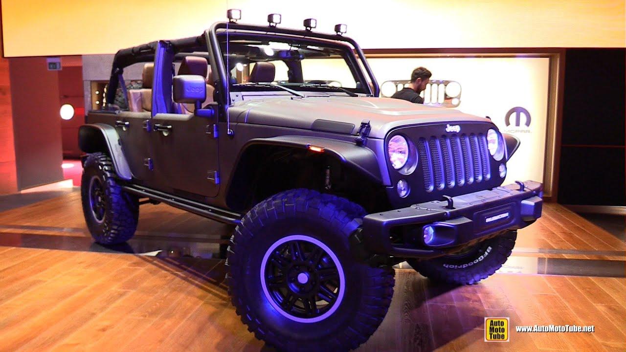 2015 Jeep Wrangler Inside >> 2015 Jeep Wrangler Rubicon Mopar Customized - Exterior ...