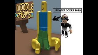 Roblox 2019 Codes in Noodle Arms!