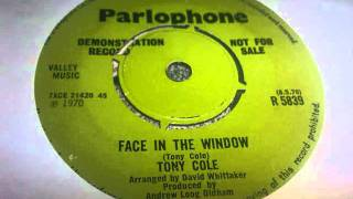 tony cole face in the window