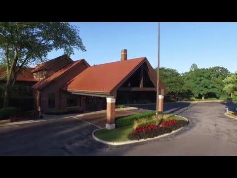 Flossmoor Country Club - Flossmoor, Illinois as produced by Global Aerial Video Inc
