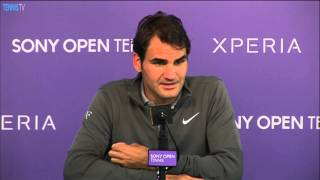 Federer Ready To Play On Clay After Miami 2014 Loss