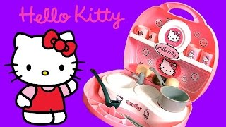 Hello Kitty Mini Kitchen Playset ❤ Play Doh Cuisine Cucina Kuche ハローキティ プレイ・ドー  Playdough