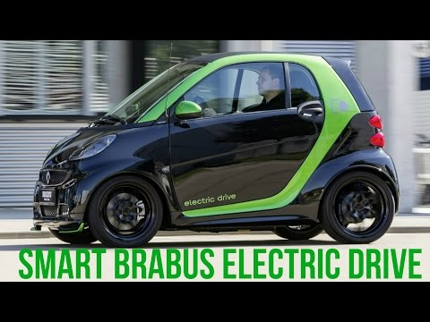 Smart BRABUS Electric Drive Berlin