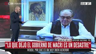 02-09-2020 Carlos Heller en C5N - Recalculando con Julián Guarino  #Pandemia #Deuda #AporteSolidario