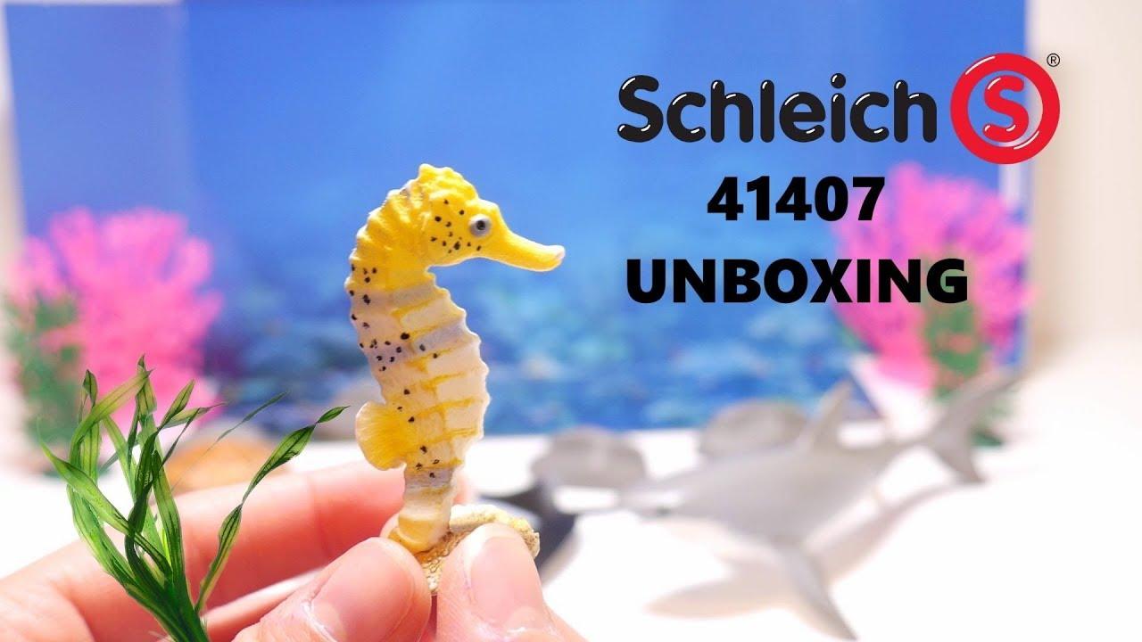 Schleich Sea Animals Set World of Nature Wild Life 41407 Unboxing | Schleich 41407