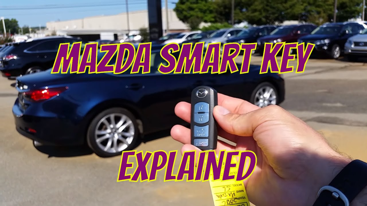 Mazda Mazda6: Operation Using Advanced Key Functions