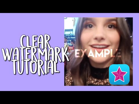 HOW TO MAKE A CLEAR WATERMARK ON VIDEO STAR *TUTORIAL*