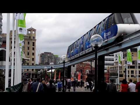 Sydney Monorail: useless but stylish! [HD] (Brasileiro na Australia)