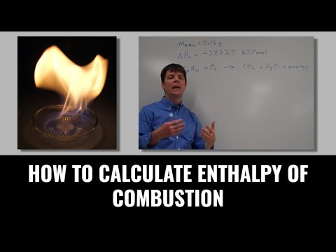How To Calculate Enthalpy Of Combustion - Mr Pauller