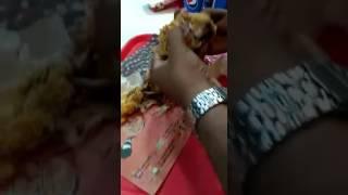 Serving Spoiled Bucket Chicken at KFC Hyderabad
